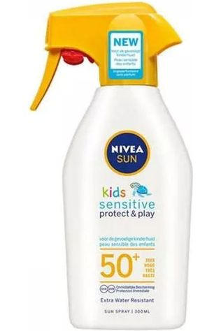 Nivea Protection Solaire 300Ml Kids Sensitive Trigger Spray Pas de couleur