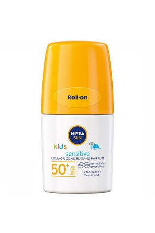 Nivea Zonnebescherming SPF50+ 50ml Roll On Kids Sensitive Geen kleur