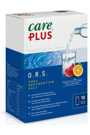 Care Plus Hydratatie O.R.S. Electrolyte Pomegranate/Orange Geen kleur / Transparant
