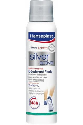 Hansaplast Foot Care Footspray Silver Active No colour / Transparent