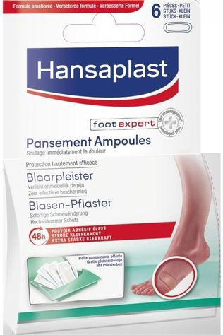 Hansaplast Blisters Blister Plasters No colour / Transparent