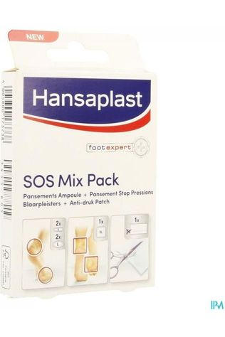 Hansaplast Blister Care Sos Blister Kit No colour / Transparent