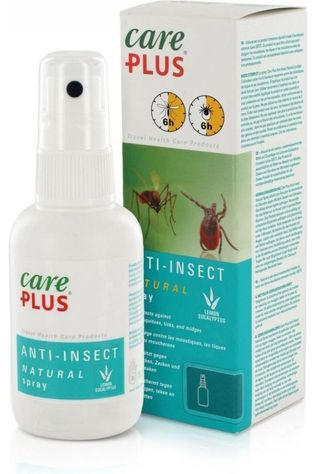 Care Plus Insectenwering Spray Natural 60ml Geen kleur / Transparant