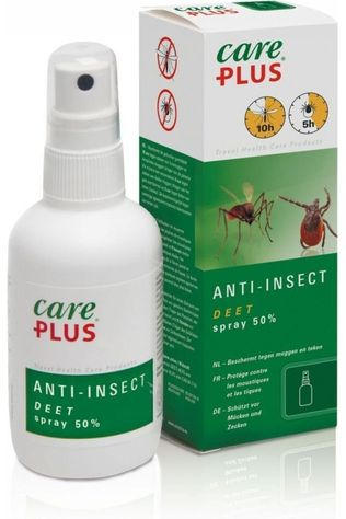 Care Plus Insectenwering Spray Deet 50% 60ml Geen kleur / Transparant
