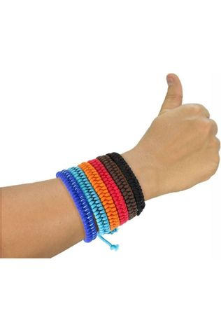 Mosquitno Insectenwering Woven Bracelet Citriodiol Middenrood