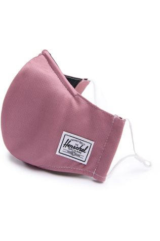 Herschel Supply Masque Classic Fitted Face Mask Rose Clair
