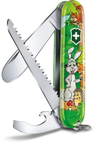 Victorinox Knife My First Victorinox Set Hare Mid Green/Assorted / Mixed
