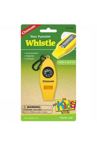 Coghlan's Toys Whistle 4 Functions Kids No Colour