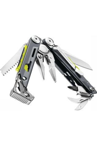 Leatherman Outil Multifonctions Signal Color Gris Moyen/Lime