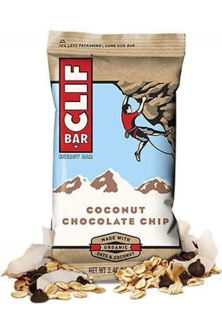 Clif Bar Reep Coconut Chocolate Chip Geen kleur / Transparant