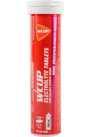 Wcup Tablet Electrolyte Red Fruits Geen kleur / Transparant