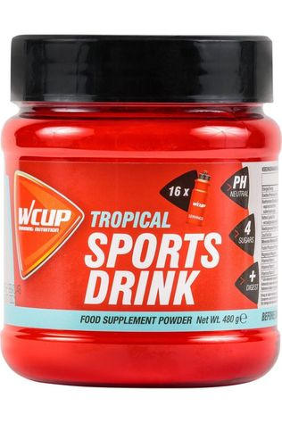 Wcup Powder Sport Drink Tropical 480g No colour / Transparent