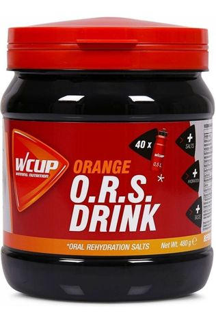 Wcup Powder Sports Drink ORS Orange 480g No Colour