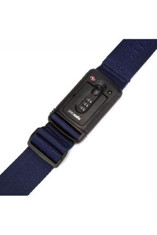 Pacsafe Anti Theft Strapsafe 100 Luggage Strap dark blue