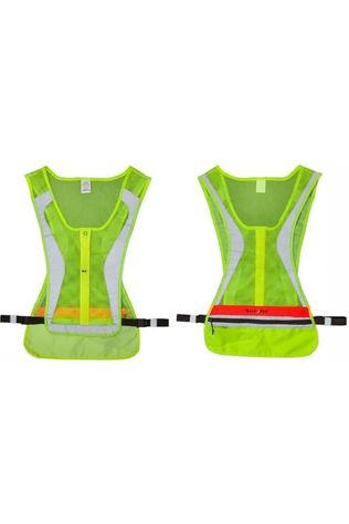 Nite Ize Reflective Material Led Run Vest light yellow/orange