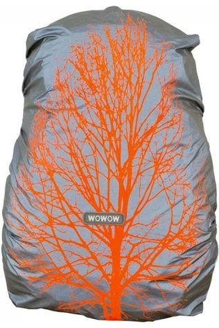 Wowow Reflective  Bag Cover Citylab mid grey/orange