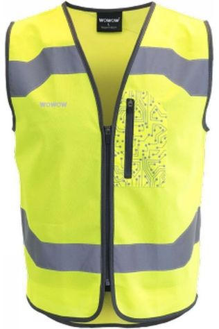 Wowow Reflective Drone Safety Jacket light yellow