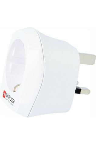 S-Kross World Adapter Europe To UK Adapter white