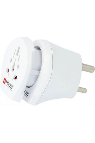 S-Kross World Adapter Universel Combo World to India white