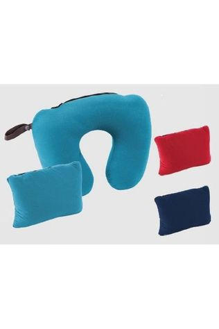 Trekmates Coussin 2 In 1 Delux Bleu Marin