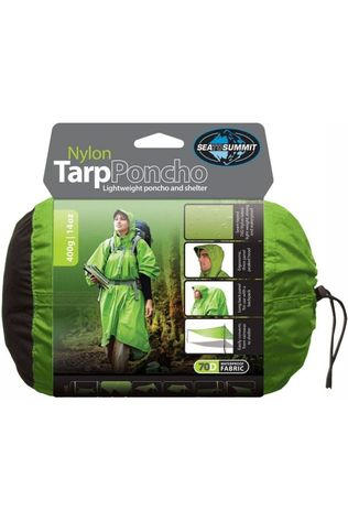 Sea To Summit Poncho Nylon Tarp Vert Moyen