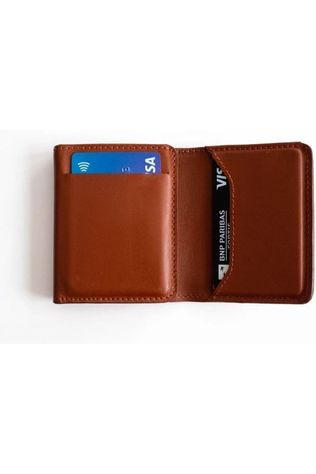 Sunslice Charger Volta Wallet mid brown