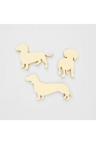 Good Design Works Gadget Dog Sticky Notes Jaune Clair