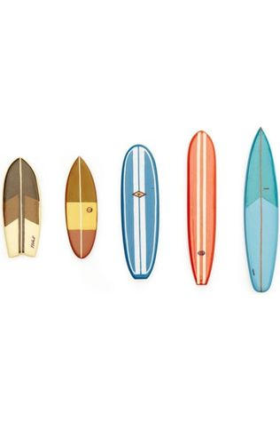 Kikkerland Surf'S Up Magnets Assorti / Mixte