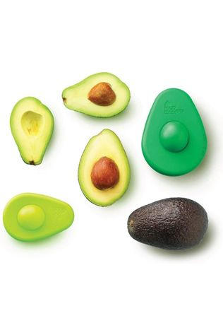 Food Huggers Gadget Set Of E Fresh Greens Avocado Huggers Vert Moyen