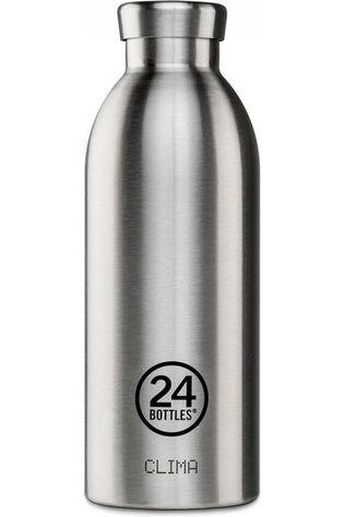 24Bottles Drinkfles Clima 500ml Zilver/Assorti / Gemengd