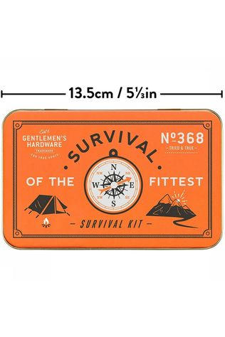 Gentlemen's Hardware Gadget Survival Kit Orange