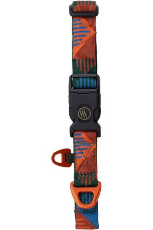 United by Blue Gadget Woven Dog Collar Zalmroze/Assorti / Gemengd