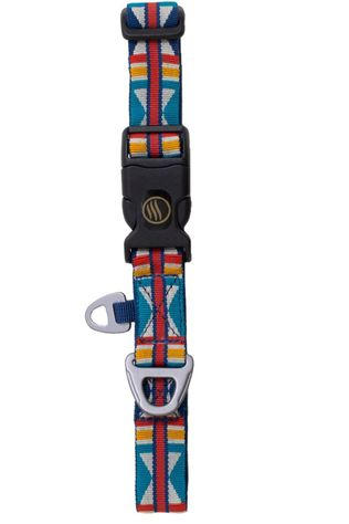 United by Blue Gadget Woven Dog Collar Donkerblauw/Assorti / Gemengd