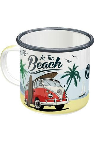 Nostalgic Art Gadget Vw Bulli Beach Enamel Mug No colour