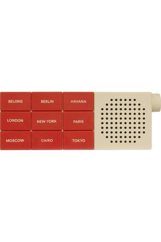 Palomar Gadget The City Radio Mid Red/Sand Brown