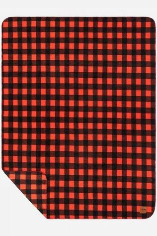 Slowtide Gadget Polar Fleece Blanket Rouge Moyen/Noir