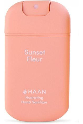 Haan Gel Désinfectant Mains Hydrating Sanitizer Rose Clair