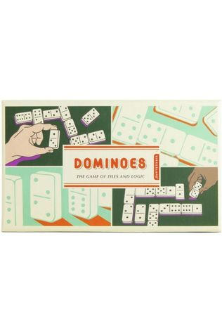 Kikkerland Game Dominoes No colour / Transparent
