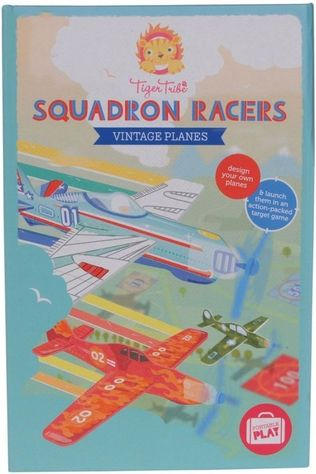 Tiger Tribe Game Squadron Racers Vintage Planes Assorted / Mixed