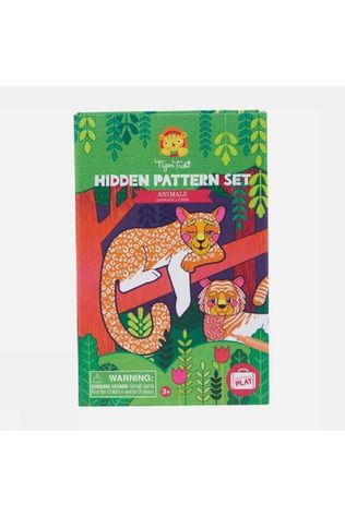 Tiger Tribe Jeu Hidden Pattern Set Animals Pas de couleur / Transparent