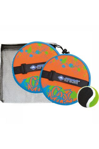 Schildkröt Jouets Catchball Set Orange/Bleu Moyen