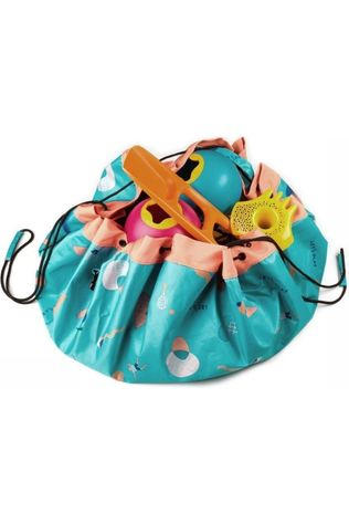 PLAY & GO Jouets Bag Outdoor Turquoise/Rose Saumon
