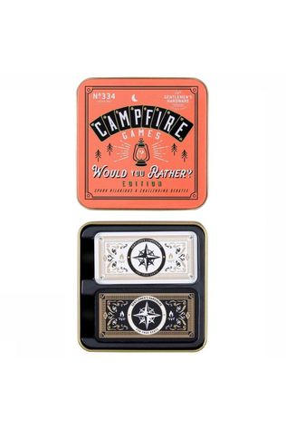 "Gentlemen's Hardware Speelgoed Campfire ""Would You Rather"" Game Geen kleur / Transparant"