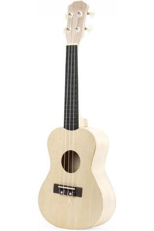 Kikkerland Toys Make Your Own Ukulele light brown/black