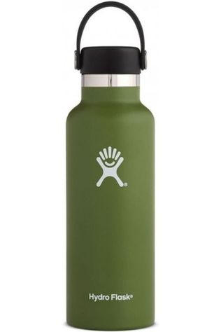 Hydro Flask Isolatiefles 18oz/532ml Standard Mouth Middenkaki