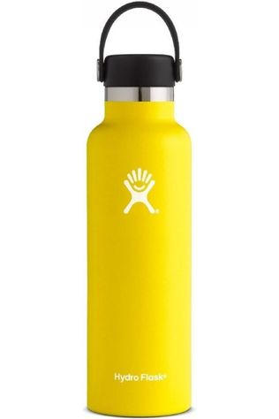 Hydro Flask Isolatiefles 21oz/621ml Standard Mouth Geel