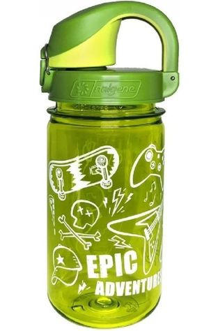 Nalgene Drinkfles On The Fly 350ml Lichtgroen/Middengroen