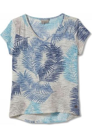 Royal Robbins T-Shirt Featherweight Ecru/Assortment Flower