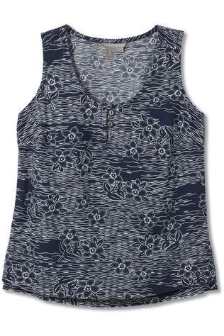 Royal Robbins Top Cool Mesh Eco Marine/Assortment Flower