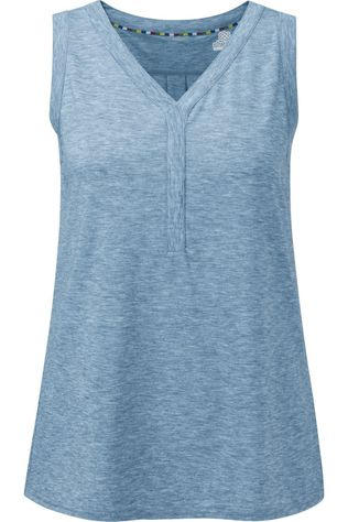 Sherpa Top Asha V-Neck Tank Bleu Clair